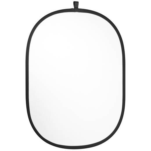 Reflektor Walimex faltbar silber/weiß (B x H) 91 cm x 122 cm 1 St.