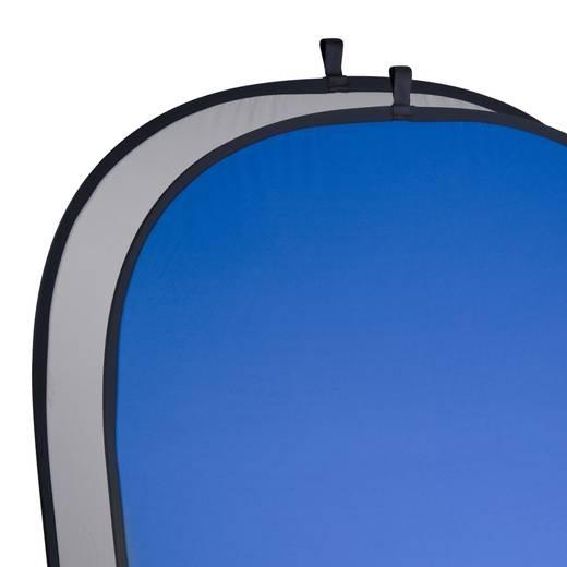 Falthintergrund Walimex Pro (L x B) 200 cm x 150 cm Grau, Blau