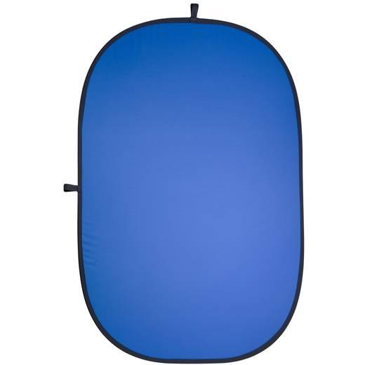 Falthintergrund Walimex (L x B) 210 cm x 180 cm Grau, Blau