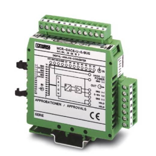 Phoenix Contact MCR-DAC 8-U-10-BUS - D/A-Wandler 8 Bit, Teilenummer 2808190,