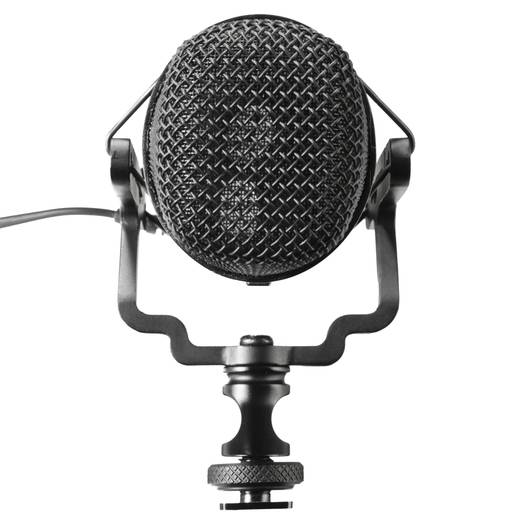Kamera-Mikrofon Walimex Pro Director 1 DSLR inkl. Windschutz, Blitzschuh-Montage