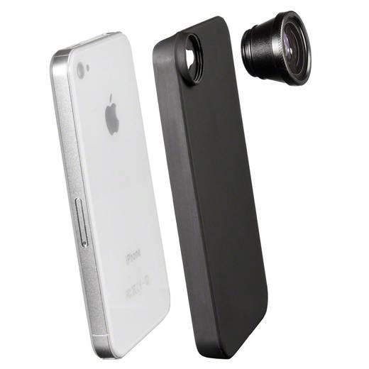 iPhone-Fish-Eye-Objektiv Walimex 18426 iPhone 4, iPhone 4S