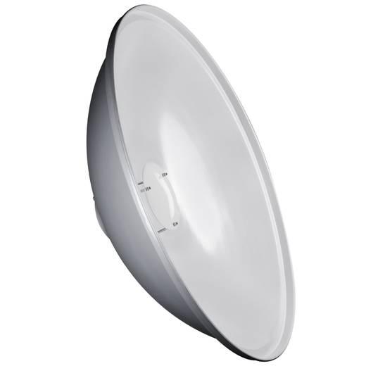 Reflektor Walimex Pro Beauty Dish 50cm & K, weiß (Ø x L) 50 cm x 18.5 cm 1 St.