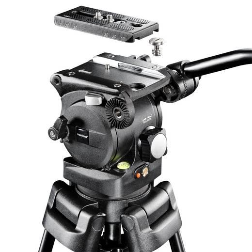 mantona Videostativ Dolomit 2200, 156cm Gewicht 5070 g