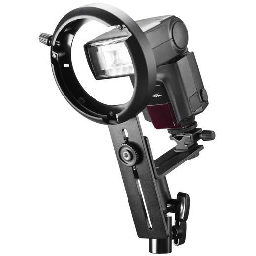 Blitzhalterung Walimex Kompaktblitz-Halter für Lichtfor