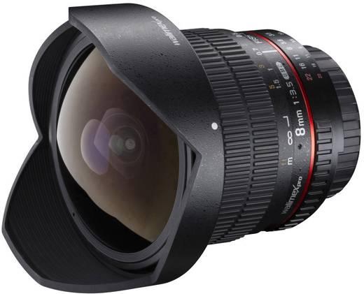 Fish-Eye-Objektiv Walimex Pro 8/3,5 Fish-Eye II für Samsung NX f/1 - 3.5 8 mm