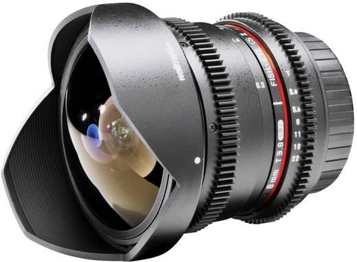 Fish-Eye-Objektiv Walimex Pro 8/3,8 Fish-Eye II VDSLR f/1 - 3.8 8 mm