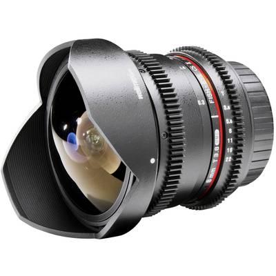Fish-Eye-Objektiv Walimex Pro 8/3,8 Fish-Eye II VDSLR f/1 - 3.8 8 mm Preisvergleich