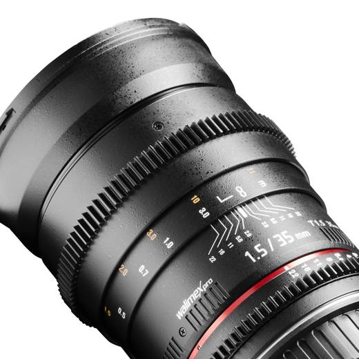 Weitwinkel-Objektiv Walimex Pro 35/1,5 VDSLR f/1 - 1.5 35 mm