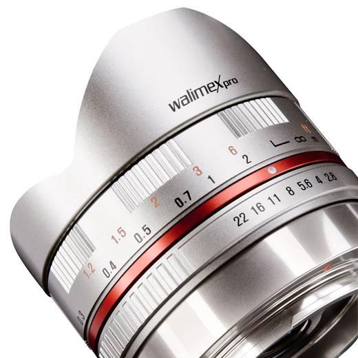 Fish-Eye-Objektiv Walimex Pro 8/2,8 Fish-Eye f/1 - 2.8 8 mm