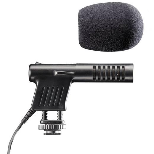Kamera-Mikrofon Walimex Pro Richtmikrofon Cineast I für DSLR inkl. Windschutz, Blitzschuh-Montage