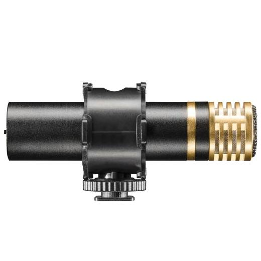 Kamera-Mikrofon Walimex Pro Stereo Richtmikrofon Director II DSLR Blitzschuh-Montage