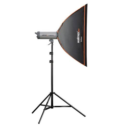 Softbox Walimex Pro Orange Line (L x B x H) 38 x 60 x 90 cm 1 St.