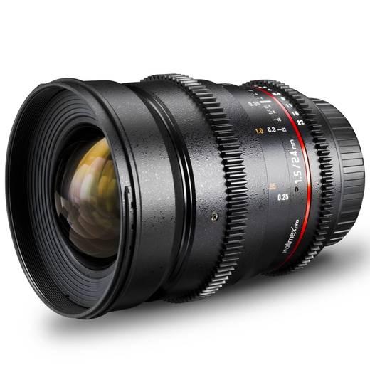 Weitwinkel-Objektiv Walimex Pro 24/1,5 VDSLR pour Olympus f/1 - 1.5 24 mm