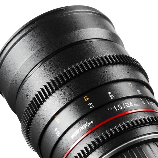 Weitwinkel-Objektiv Walimex Pro 24/1,5 VDSLR pour Samsung f/1 - 1.5 24 mm