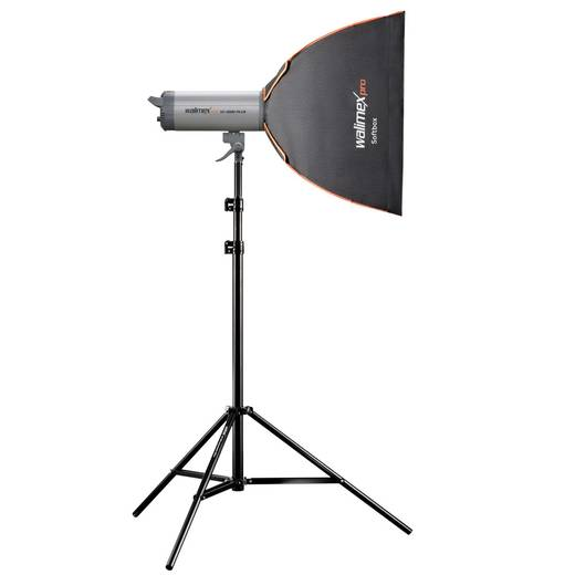 Softbox Walimex Pro PLUS Orange Line (L x B x H) 39.5 x 60 x 60 cm 1 St.