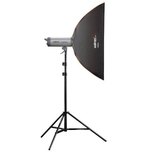 Softbox Walimex Pro PLUS Orange Line (L x B x H) 31.5 x 22 x 90 cm 1 St.
