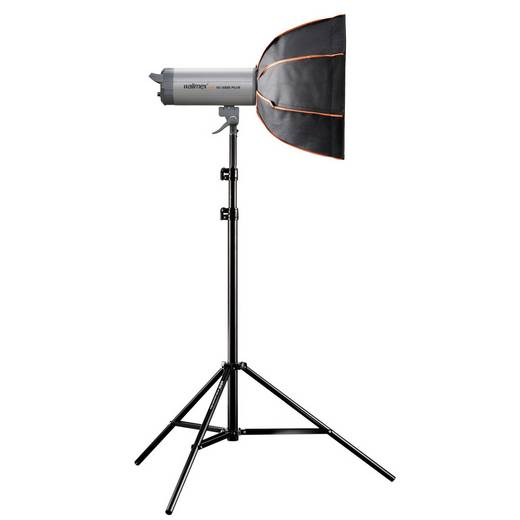 Softbox Walimex Pro Octagon PLUS Orange Line (Ø x L) 45 cm x 30 cm 1 St.