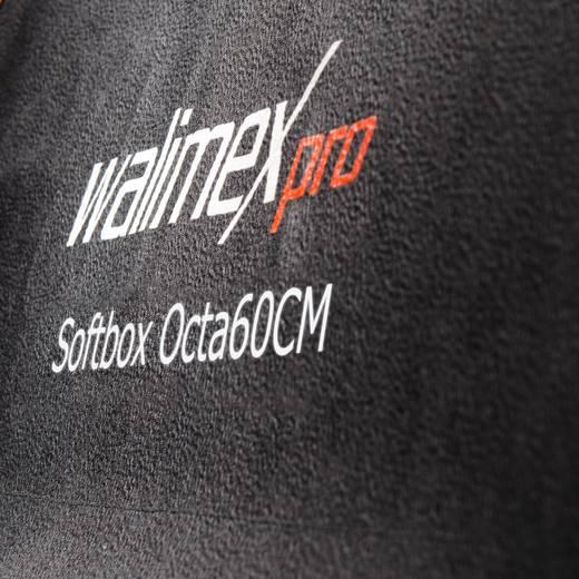 Softbox Walimex Pro Octagon PLUS Orange Line (Ø x L) 60 cm x 31.5 cm 1 St.