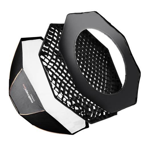 Softbox Walimex Pro Octagon PLUS Orange Line (Ø x L) 150 cm x 60 cm 1 St.