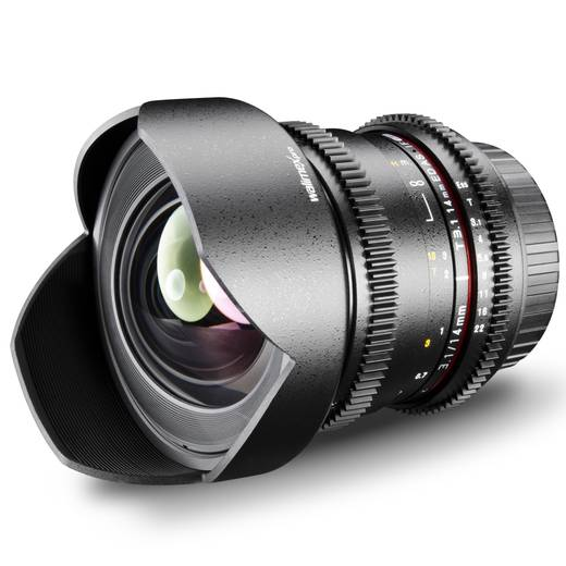 Weitwinkel-Objektiv Walimex Pro 14/3,1 VDSLR f/1 - 3.1 14 mm