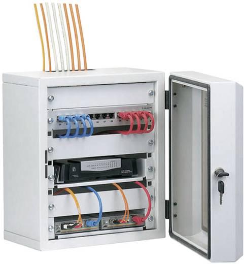 10 Zoll Netzwerkschrank EFB Elektronik 691801 7 HE Lichtgrau