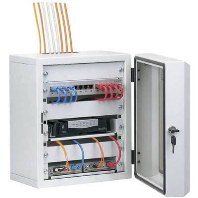 10 Zoll Netzwerkschrank EFB Elektronik 691801 7 HE Lichtgrau Preisvergleich