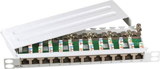 12 Port Netzwerk-Patchpanel EFB Elektronik 691813SW CAT 6a 1 HE