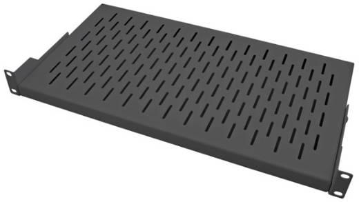 19 Zoll Netzwerkschrank-Geräteboden 1 HE EFB Elektronik RAL9005 variable Befestigungsschienen Geeignet für Schranktief