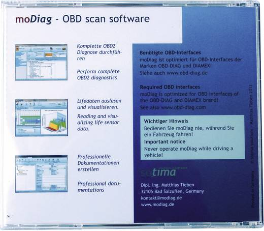 Software Diamex 7206 moDiag Ultimate Software