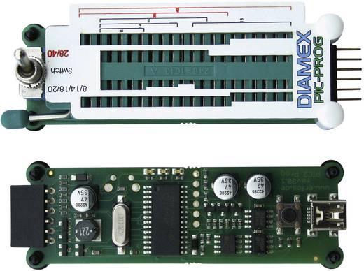 Set aus PIC-Prog-Schwenkhebler und PIC-Programmierer Diamex 7210 Geeignet für USB-Port