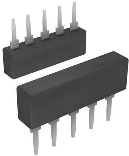 Widerstandsnetzwerk 2.2 kΩ radial bedrahtet SIP-5 0.2 W Bourns 4605X-101-222LF 1 St.