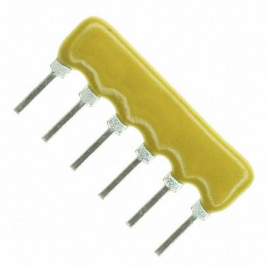 Widerstandsnetzwerk 1 kΩ radial bedrahtet SIP-6 0.3 W Bourns 4606X-102-102LF 1 St.