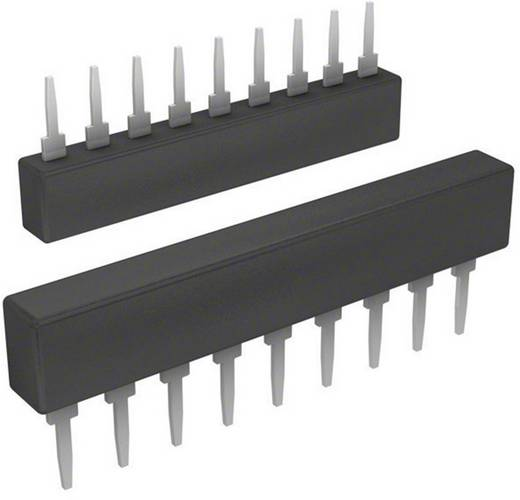 Widerstandsnetzwerk 2.2 kΩ radial bedrahtet SIP-9 0.2 W Bourns 4609X-101-222LF 1 St.