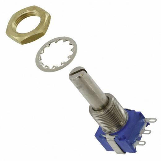 Dreh-Potentiometer abgedichtet Mono 1 W 10 kΩ Bourns 53RAA-R25-A15L 1 St.