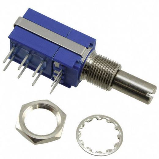 Dreh-Potentiometer mit Druck-Zug-Schalter Mono 0.5 W 10 kΩ Bourns 54AAD-B28-B15/P50L 1 St.