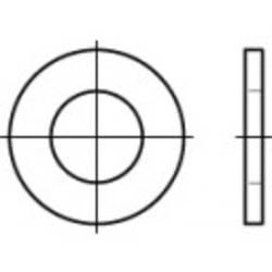 Rondelle TOOLCRAFT 105546 N/A Ø intérieur: 26 mm acier 100 pc(s)