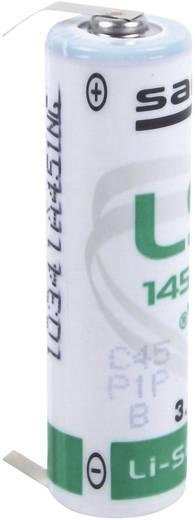Spezial-Batterie Mignon (AA) U-Lötpins Lithium Saft LS 14500 CNR 3.6 V 2600 mAh 1 St.