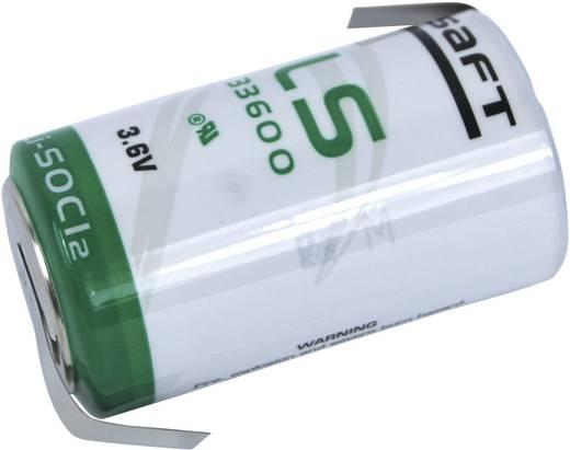 Spezial-Batterie Mono (D) Z-Lötfahne Lithium Saft LS 33600 HBG 3.6 V 17000 mAh 1 St.