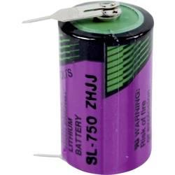 Špeciálny typ batérie 1/2 AA spájkovacie kolíky v tvare U lítiová, Tadiran Batteries SL 750 PR, 1100 mAh, 3.6 V, 1 ks