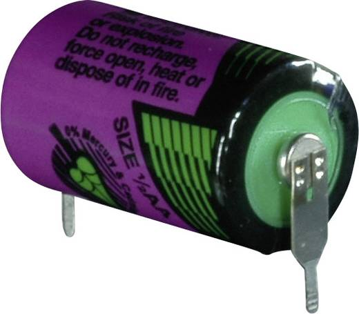 Tadiran Batteries SL 750 PR Spezial-Batterie 1/2 AA U-Lötpins Lithium 3.6 V 1100 mAh 1 St.