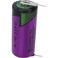 Špeciálny typ batérie 2/3 AA spájkovacie kolíky v tvare U lítiová, Tadiran Batteries SL 761 PR, 1500 mAh, 3.6 V, 1 ks