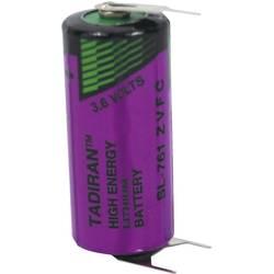 Špeciálny typ batérie 2/3 AA spájkovacie kolíky v tvare U lítiová, Tadiran Batteries SL 761 PT, 1500 mAh, 3.6 V, 1 ks