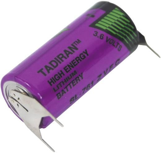 Spezial-Batterie 2/3 AA U-Lötpins Lithium Tadiran Batteries SL 761 PT 3.6 V 1500 mAh 1 St.