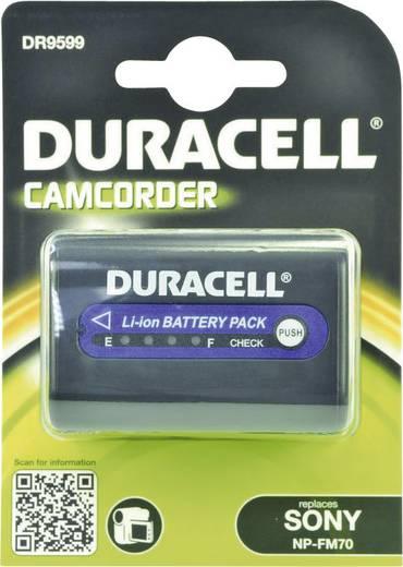 Kamera-Akku Duracell ersetzt Original-Akku NP-QM71 7.4 V 2800 mAh NP-QM71