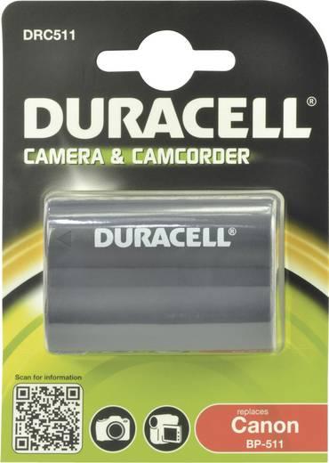 Kamera-Akku Duracell ersetzt Original-Akku BP-511, BP-512 7.4 V 1400 mAh BP-511