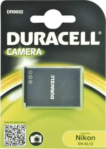 Kamera-Akku Duracell ersetzt Original-Akku EN-EL12 3.7 V 1000 mAh