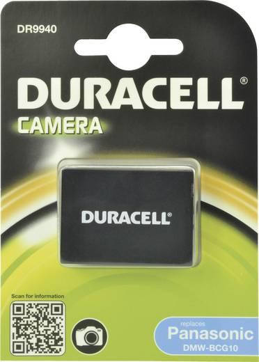 Kamera-Akku Duracell ersetzt Original-Akku DMW-BCG10 3.7 V 850 mAh DMW-BCG10