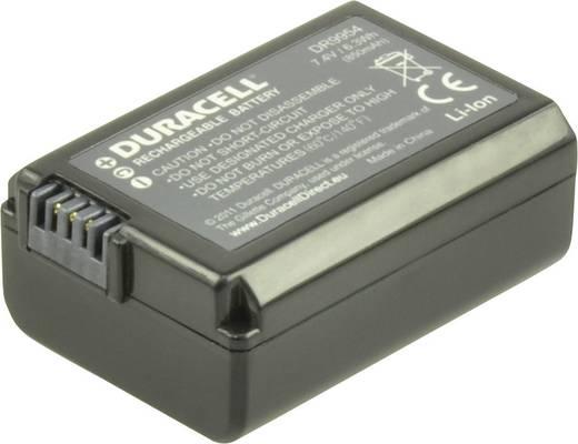 Kamera-Akku Duracell ersetzt Original-Akku NP-FW50 7.4 V 900 mAh NP-FW50