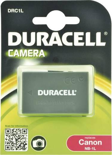 Kamera-Akku Duracell ersetzt Original-Akku NB-1L 3.7 V 950 mAh